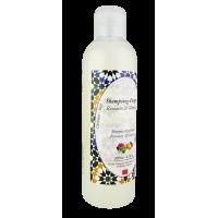 Argan Shampoo with Rosemary and Geranium 6.76oz. Good for oily hair