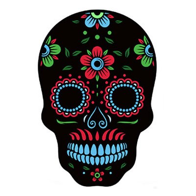 Halloween Party LED Light Skull Mask