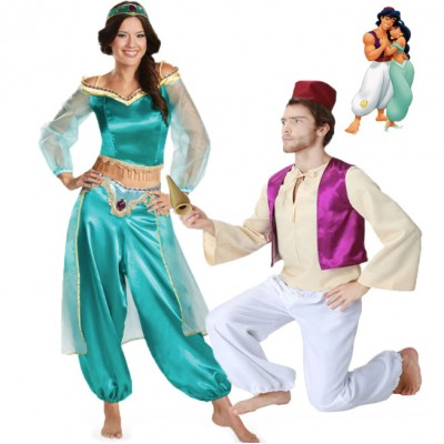 Aladdin Couple Halloween Costume
