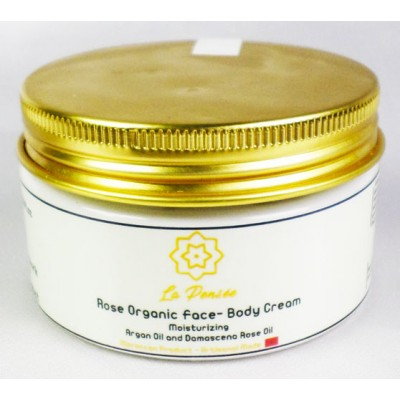 Rose and Argan moisturizing cream for face 3.53 oz. Look younger naturally !