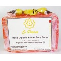 Organic Rose Soap 3.53 oz. For body and feelings !